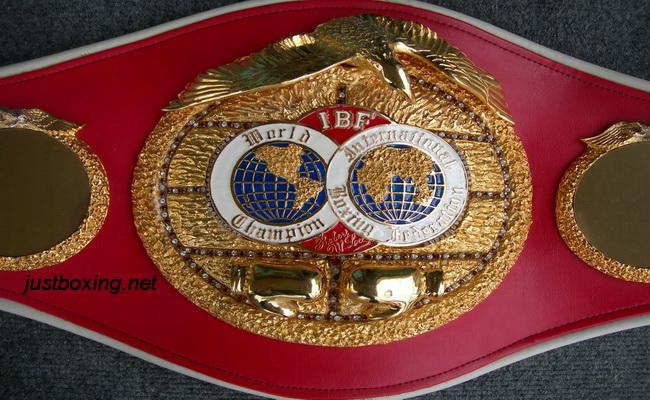 Чемпионский пояс IBF