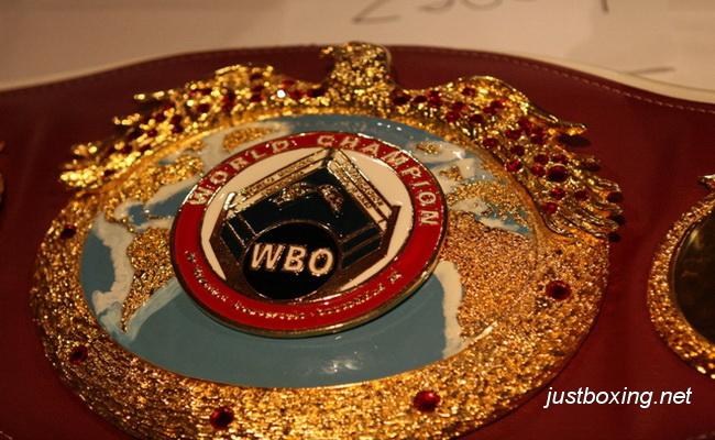 Чемпионский пояс WBO